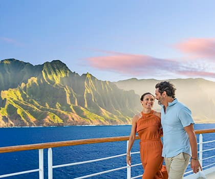 Take in the views on a Hawaii cruise