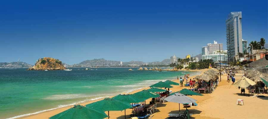 See Acapulco on your next Mexican Rivera cruise