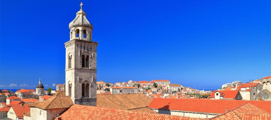 Dubrovnik, Croatia on your Europe cruise