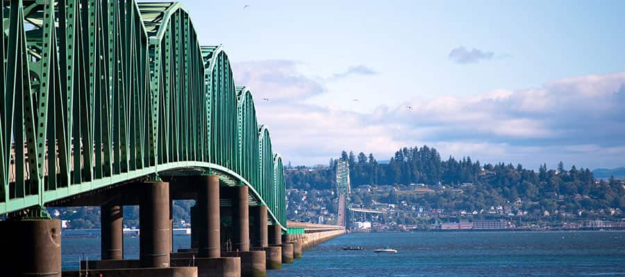 Visit the Columbia River in Astoria on your Pacific Coastal Cruise