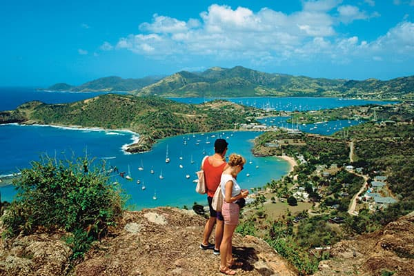 Make some friends hiking in Tortola