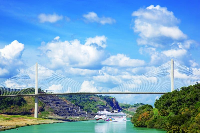 Cruise Through the Panama Canal from New York with Norwegian